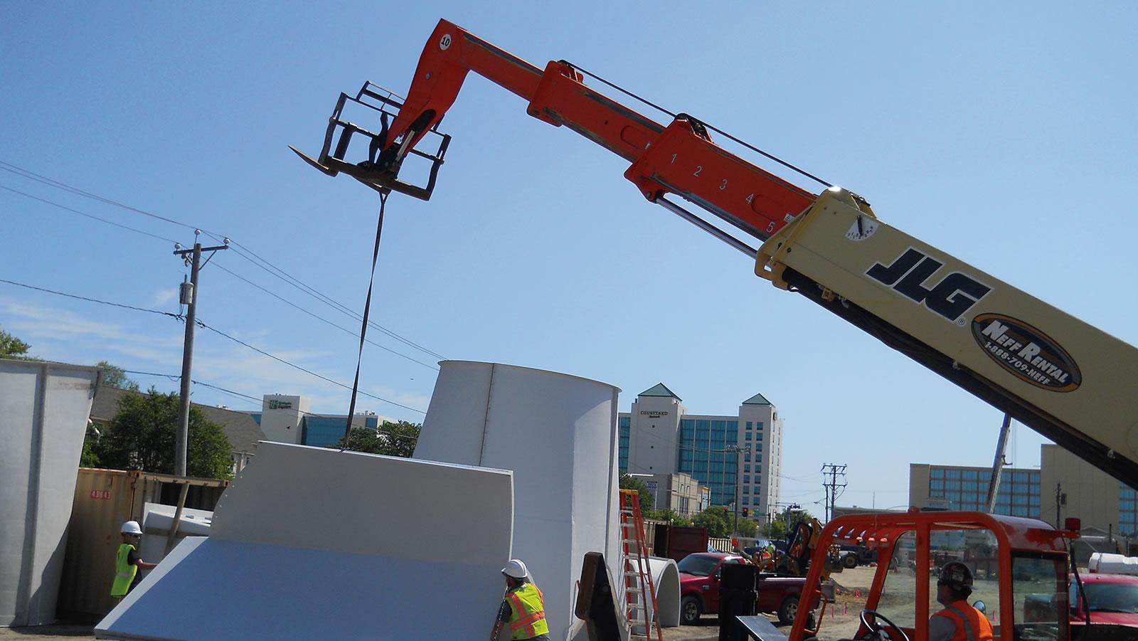 Crane Service - Machinery Movers and Erectors
